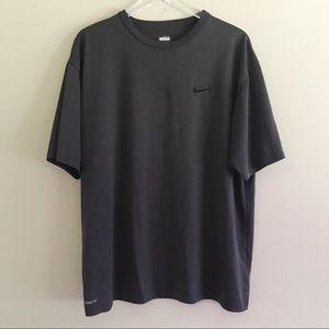 Nike Fit Dry Men's Dark Grey Shirt XL